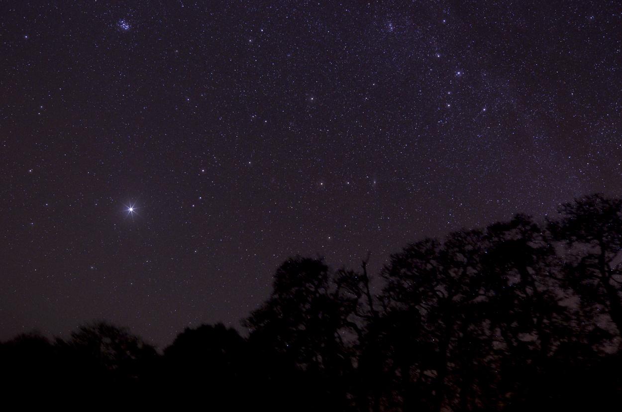 Jupiter & Milkway from Northumberland Mike Dickson